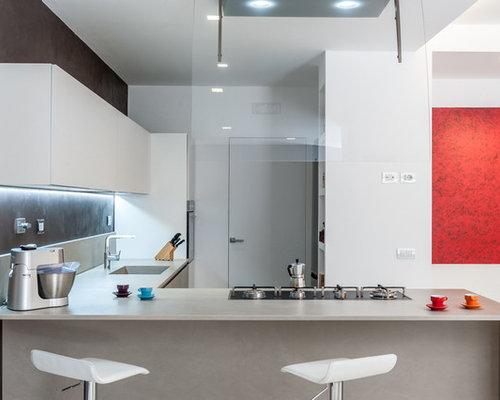 Cucina con top in quarzite foto e idee per arredare - Top cucina quarzite ...