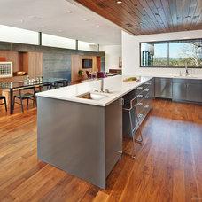 Midcentury Kitchen by Redbud Custom Homes