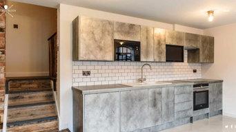 Zinc Clad Kitchen Units