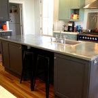 Zinc Countertops for Modern Kitchen - Modern - Kitchen ...