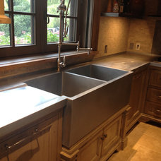 Farmhouse Kitchen by Brooks Custom