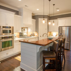 Traditional Kitchen by Crosby Creations Drafting & Design Services, LLC