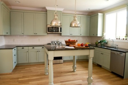 Traditional Kitchen by Zinn Design Build