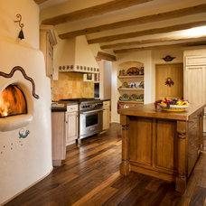 Southwestern Kitchen by Kitchens By Jeanne'