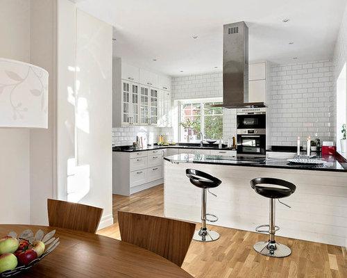 75 scandinavian kitchen diner with granite worktops design ideas