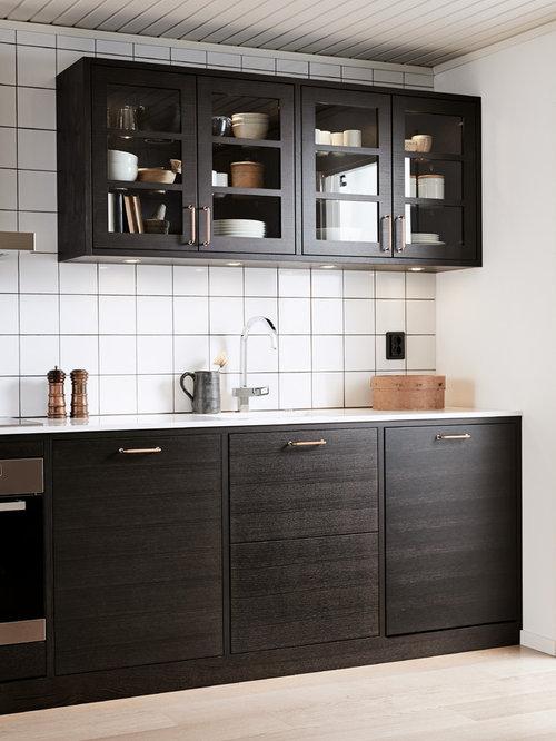 Http Www Houzz Com Au Photos Scandinavian Kitchen Cabinet Finish Brown