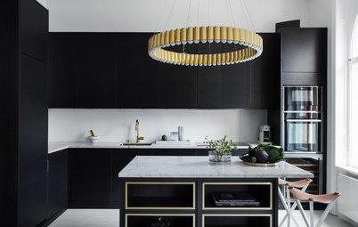 Quali Materiali Stanno Bene con Una Cucina Nera?
