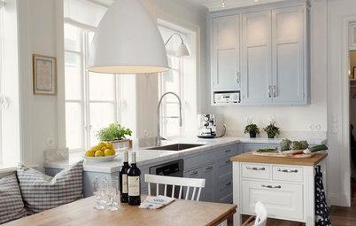 Veckans kök: Klassisk skönhet och en helt ny färg i Marstrand