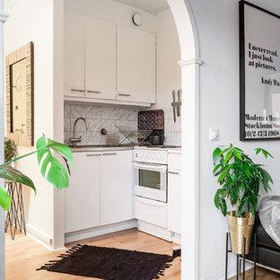 Small transitional kitchen ideas - Kitchen - small transitional kitchen idea in Gothenburg