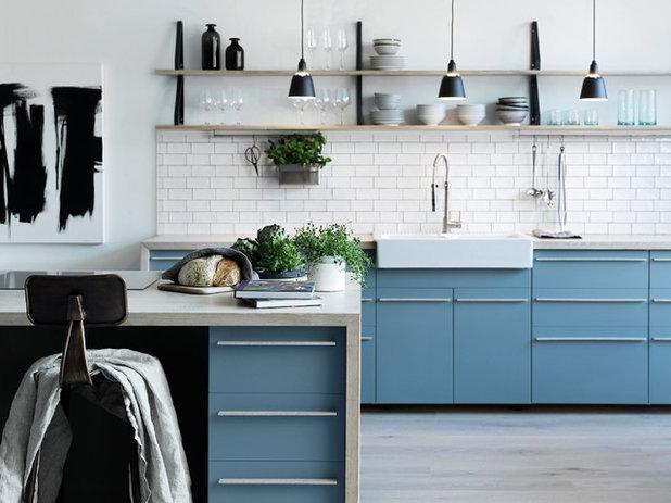 北欧 キッチン by Hemisfär