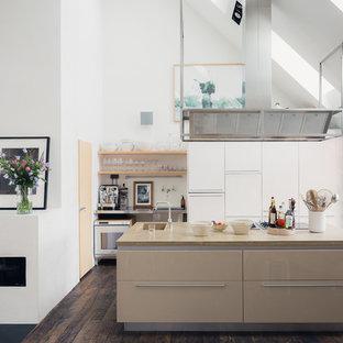 Exempel på ett modernt kök