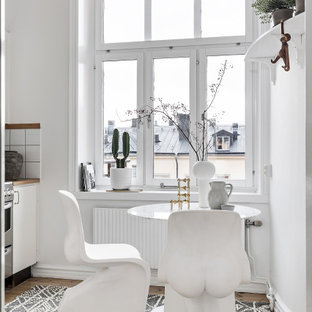 Nordisk inredning av ett kök