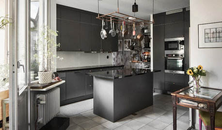 My Houzz: Two Chefs' Raw and Real Stockholm Apartment