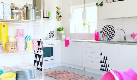 9 Stylish Ways to Add Pattern to Your Eat-In Kitchen