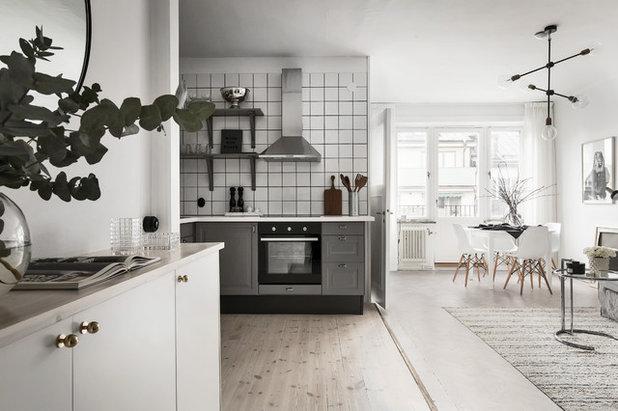 北欧 キッチン by DREAMHOUSE decorations