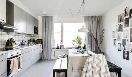 Lyft köket med textilier, snabbt och billigt