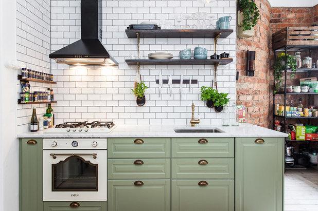 Parete Cucina Verde. Colori Per Pareti Cucina Elegante Stunning ...