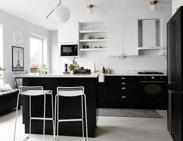 Köksrenovering med IKEA stommar