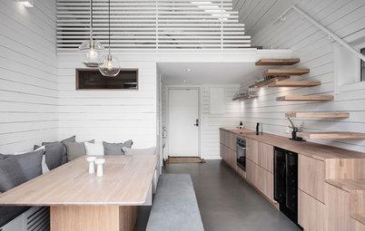 Visite Privée : Une tiny house tout équipée en Suède