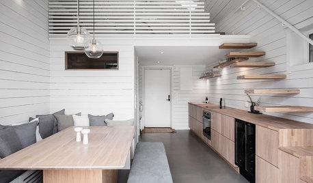 Tricks aus dem Bootsbau und Einbaumöbel optimieren ein Tiny House