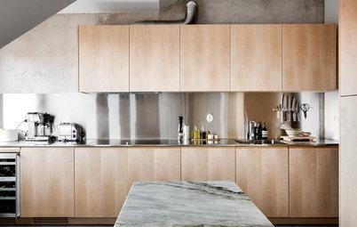 Trä, vitt eller metall? Så här väljer du rätt köksluckor