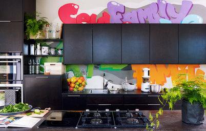 Visionært køkken: Funky, farvestrålende og super miljøvenligt