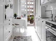 Einrichtungsideen kleine wohnküche  9 Tipps, wie Sie eine kleine schmale Küche einrichten
