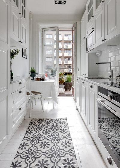 9 Tipps, wie Sie eine kleine schmale Küche einrichten