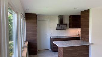 Renovering kök, matsal och badrum