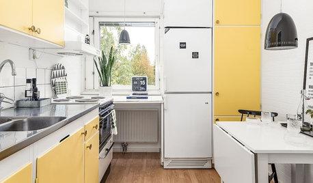 9 façons d'aménager un coin repas modulable dans une petite cuisine