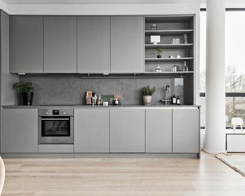 Http Www Houzz Com Au Photos Scandinavian Kitchen Cabinet Finish Gray