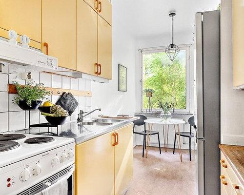 Cucina con ante gialle stoccolma foto e idee per ristrutturare e
