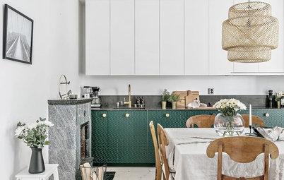 Mixa material i köket – nya heta trenden