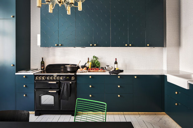 Contemporary Kitchen By Myrica Bergqvist Interior Stylist Decorator