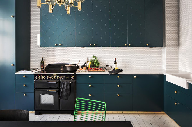 Contemporary Kitchen by Myrica Bergqvist Interior Stylist/Decorator