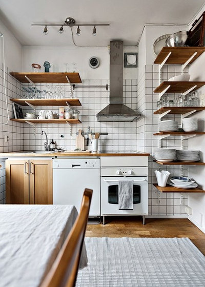 Industrial Kitchen by coloredhome