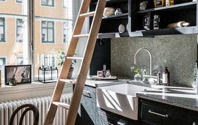 Åben opbevaring i køkkenet – uden at det roder!