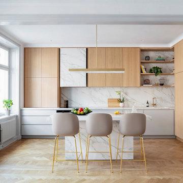 Upplandsgatan Residence Kitchen