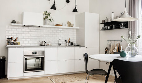 My Houzz: New York Loft Meets Cool Scandi in a One-bed Flat