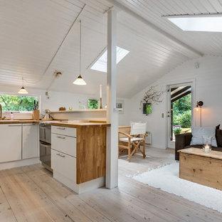 Idées déco pour une cuisine scandinave.