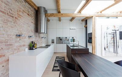 Köksprojekt: Gammal lagerbyggnad förvandlas till fantastiskt kök