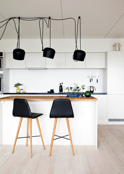 Scandinavian Kitchen by Frederikke Aagaard Design Studio
