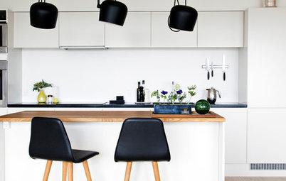 Træt af dit hvide køkken? Så let kan du give det ekstra kant