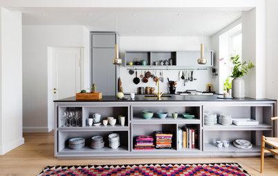 家事をストレスフリーに! キッチンカウンター下収納の使い方と収納アイデア