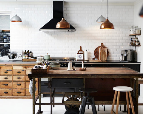 design kitchen backsplash 30 best farmhouse kitchen with black cabinets ideas houzz 3173