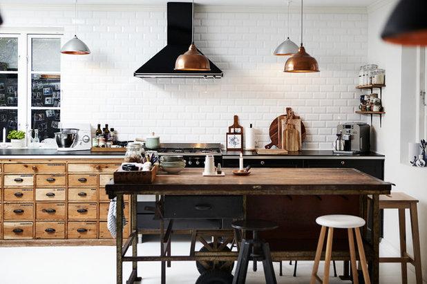 Industrial Kitchen by Mia Mortensen Photography