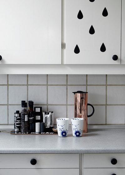 北欧 キッチン by Mia Mortensen Photography