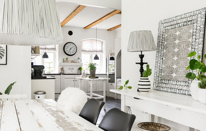 Bright Scandinavian Style in a 19th-Century Country House