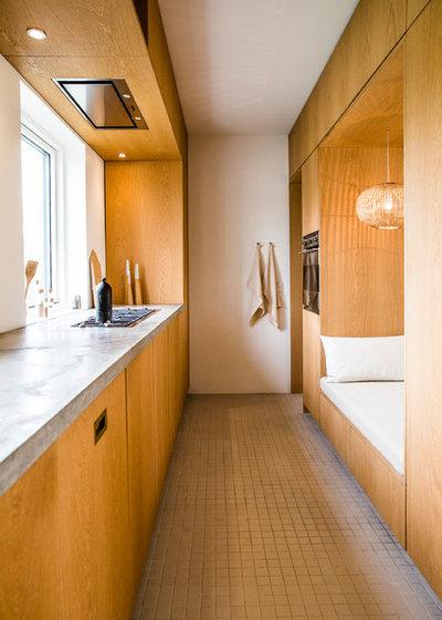 Moderne Køkken by FRIER Architecture