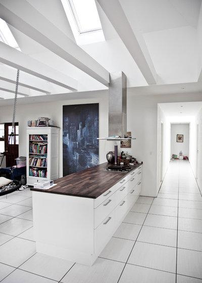 Spørg houzz: hvordan får jeg bedre akustik i køkken og stue?